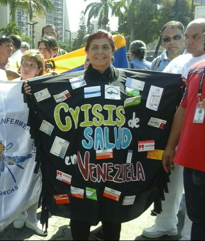 ONG y Gremios marcharon por la defensa del derecho a la salud