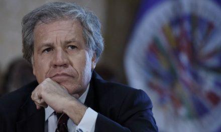 """Luis Almagro: """"Necesitamos ejercer más presión internacional ante el régimen venezolano"""""""