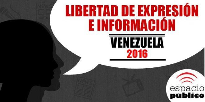 Venezuela en 2016: Una violación a la libertad de expresión por día