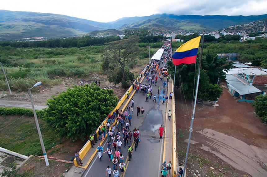 Servicio Jesuita a Refugiados: Informe de Contexto Frontera Colombia- Venezuela 2017