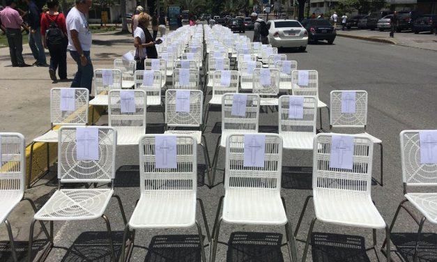 Movimiento Vinotinto rindió homenaje a las víctimas de la represión del gobierno de Maduro