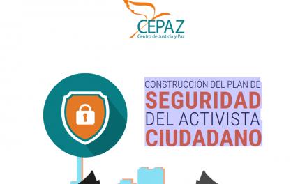 Construcción del plan de seguridad del activista ciudadano
