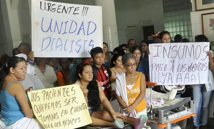 Inminentes peligros para la vida de las personas en diálisis, trasplantadas y en lista de espera por trasplantes en Venezuela