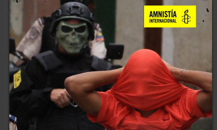 Informe Amnistía Internacional /  Venezuela: Esto no es vida