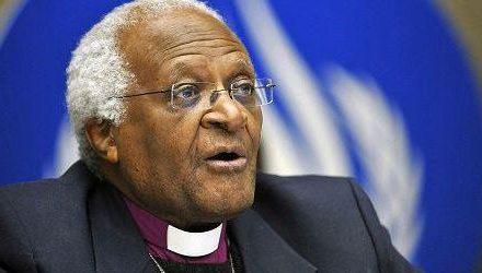 Comunicado Desmond Tutu, Premio Nobel de la Paz