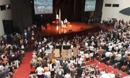 """""""Venezuela Unida no se Rinde"""" / Proclama del Acto de la Sociedad Civil en el AulaMagna de la UCV"""