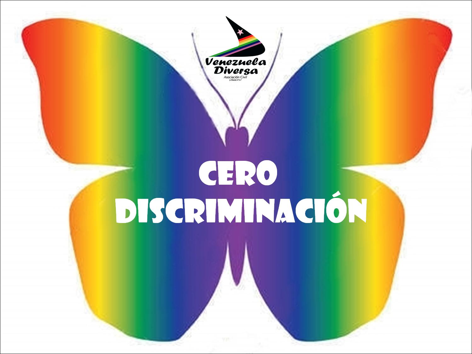 Venezuela Diversa: 01 Marzo 2016. Día Cero Discriminación: Destácate.