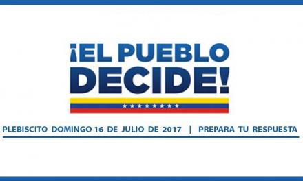 43 ONG convocan al pueblo venezolano a participar en la consulta del #16J