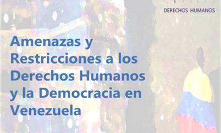 Informe Comprehensivo sobre DDHH y Democracia en Venezuela