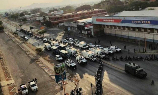 Declaración pública de la Red de Derechos Humanos de Lara: Oleada represiva contra la población larense debe cesar