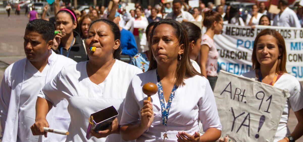 La intergremial Sindical del Sector Salud  exigen al gobierno la reestructuración de políticas sanitarias