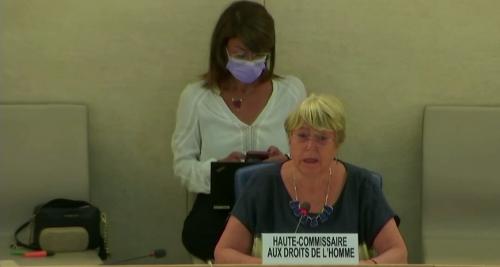 Presentación del informe de la Alta Comisionada para los Derechos Humanos sobre la situación y asistencia técnica  en Venezuela