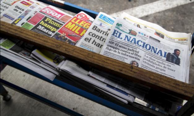 Hostigamiento, confiscación de material y detenciones arbitrarias son algunas de las denuncias que ha recabado la CIDH sobre los ataques a la prensa en Venezuela