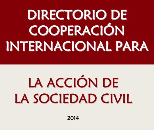 Directorio de Cooperación Internacional para la Acción de la Sociedad Civil, 2014