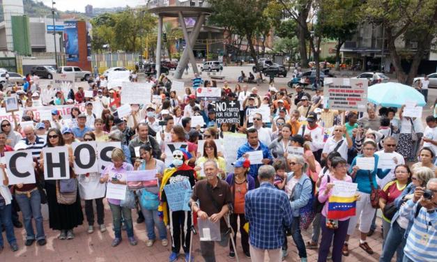 """""""No queremos Morir"""" fue el llamado de los ciudadanos que asistieron a la concentración de Codevida"""