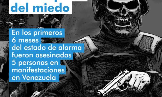 """Provea / La Disciplina del Medio: """"Detenciones arbitrarias y asesinatos en los primeros 6 meses del Estado de Alarma en Venezuela"""