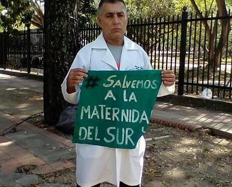 """Jorge Pérez: """"Mi labor como médico es rescatar y defender el derecho a la vida y la salud en esta emergencia humanitaria"""""""