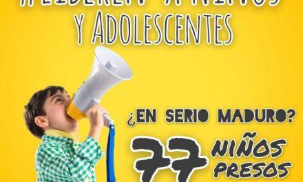 86 Organizaciones de DDHH exigen la libertad de las niñas, niños y adolescentes privados arbitrariamente de su libertad