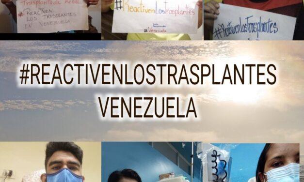 Comunicado Conjunto / A 4 años de la suspensión del Programa de Procura de Órganos y Trasplantes en Venezuela