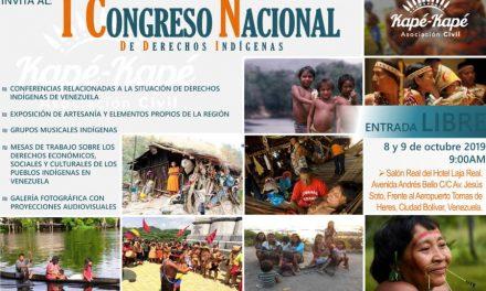 I Congreso Nacional de Derechos Indígenas organizado por el Observatorio de la Asociación Civil Kapé Kapé