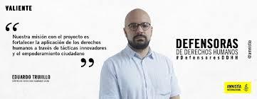 Eduardo Trujillo: Venezuela tiene la crisis más grave de derechos humanos