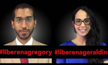 Organizaciones de DDHH exigen el cumplimiento de la orden de excarcelación para Gregory Hinds y Geraldine Chacón en Venezuela