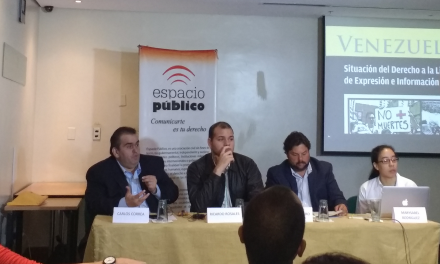 Espacio Público lanza su informe anual sobre el derecho a la libertad de expresión e información en Venezuela