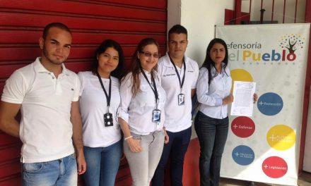 En exigencia de justicia, reparación y garantías de no repetición Cadef acudió a la Defensoría del Pueblo en Carabobo