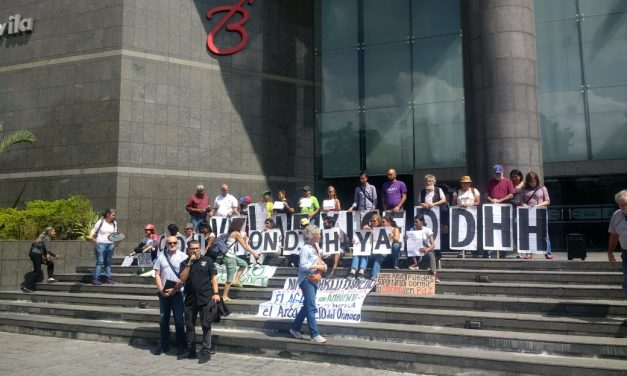 En el marco de la actualización del informe oral presentado por la Alta Comisionada para los DDHH, sociedad civil se reunió en la sede del PNUD para exigir la creación  de una Comisión de Investigación en Venezuela