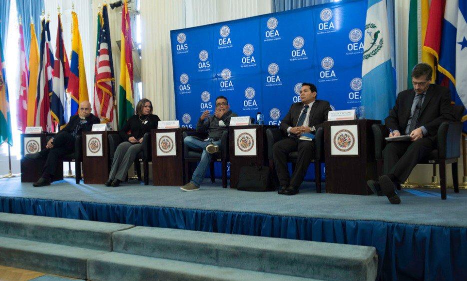ONG venezolanas debatieron situación del país en la OEA