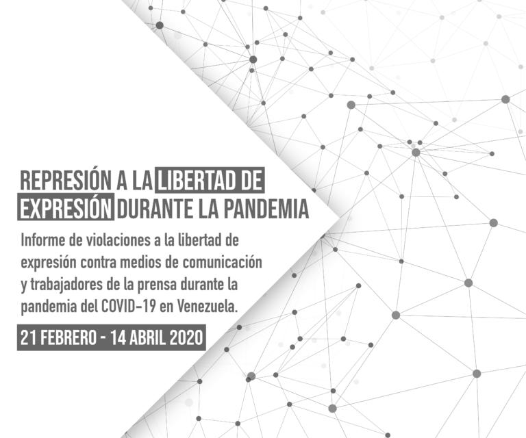RedesAyuda: Represión a la libertad de expresión durante la pandemia