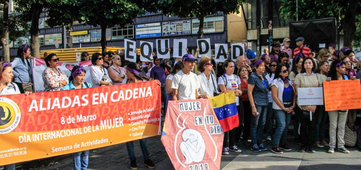 """Proiuris: """"Y las mujeres alzaron sus voces"""" en concentración organizada por la Red Narajan para conmemorar el Día Internacional de la Mujer"""