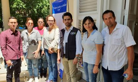 Víctimas representadas por el ODH-ULA denuncian sus casos a la delegación de la Cidh en Cúcuta