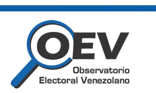 OEV   Las Cifras del CNE bajo sospecha