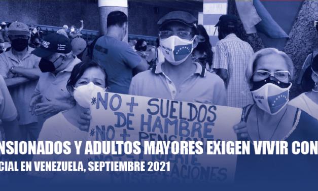 El Observatorio Venezolano de Conflictividad Social registró 568 protestas durante el mes de septiembre de 2021