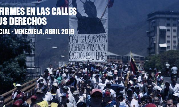 OVCS: 1.963 protestas se contabilizaron en Venezuela durante el mes abril
