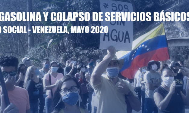 El Observatorio Venezolano de Conflictividad Social registró 1.075 protestas en mayo de 2020, equivalente a un promedio de 36 diarias