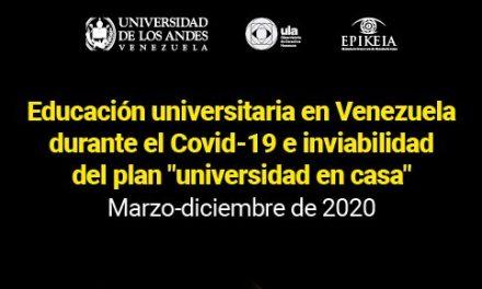 Limitaciones a la educación universitaria en Venezuela durante la cuarentena por COVID-19 en 2020