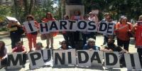 La Red Naranja y las organizaciones sociales de mujeres realizaron una acción de calle para pedir justicia por Linda Loaiza