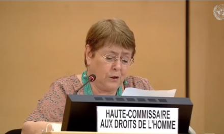 Alta Comisionada para los DDHH, Michelle Bachelet, presentó informe técnico sobre la situación de los DDHH en Venezuela entre junio de 2019 y mayo de 2020