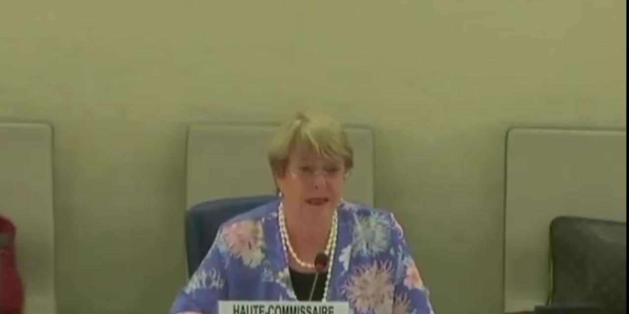 Alta Comisionada Michelle Bachelet, alertó ante el Consejo de DDHH sobre las restricciones del espacio cívico en Venezuela
