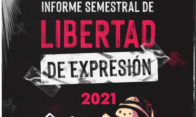 Un Mundo Sin Mordaza / Informe semestral de Libertad de Expresión 2021