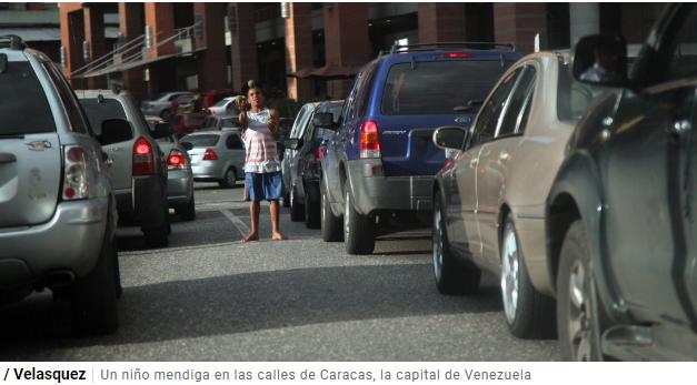 Uno de cada tres niños en Venezuela necesita ayuda humanitaria