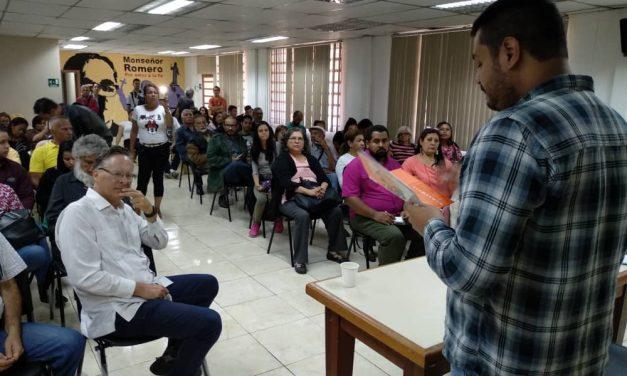 Dirigentes vecinales participaron en conversatorio para formarse en DDHH