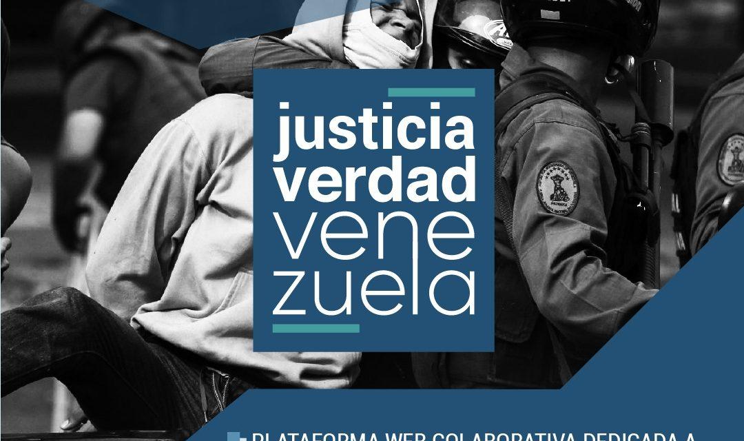 #JusticiaYVerdad es una plataforma colaborativa que difunde ante la comunidad internacional las violaciones y abusos graves de derechos humanos de Venezuela