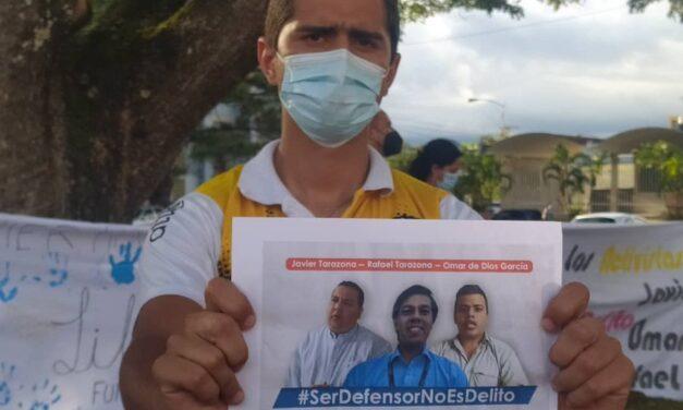 FundaRedes continúa con actividades para exigir la libertad plena de tres activistas detenidos arbitrariamente