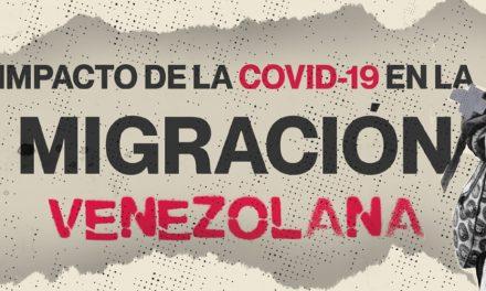 """Un Mundo Sin Mordaza: """"Impacto de la Covid-19 en la migración venezolana"""""""