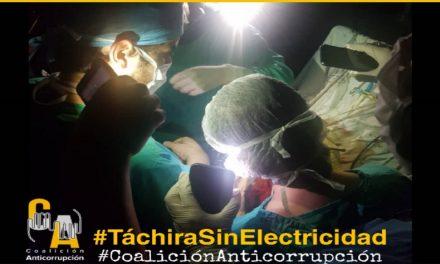 Sociedad civil exige soluciones a constantes fallas en el servicio eléctrico en Táchira
