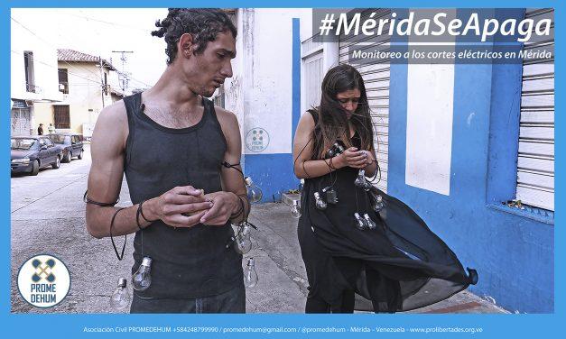 Promedehum continúa monitoreando los cortes eléctricos en Mérida y analizando las consecuencias que esto genera en los hogares merideños