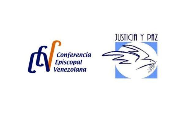 La Comisión Episcopal de Justicia y Paz de la Conferencia Episcopal Venezolana dirigen un comunicado ante la detención de defensores de Derechos Humanos.